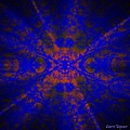 Inner Glow - Abstract by Leanne Seymour