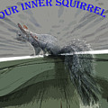 Inner Squirrel Art #1 by Ben Upham III