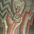Inner Turmoil  Detail by Donald Burroughs