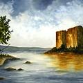 Innischonnel Castle by Michael Vigliotti