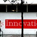 Innovative Red by Jez C Self