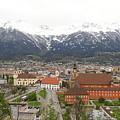 Innsbruck View by Hitesh Patel