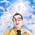 Insane Business Man With Busy Travel Schedule by Jorgo Photography - Wall Art Gallery