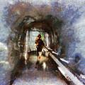 Inside An Ice Tunnel In Switzerland by Ashish Agarwal