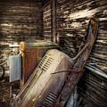 Inside Barn by Wayne Sherriff