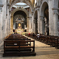 Inside Beautiful Church In Rome by Munir Alawi