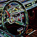 Inside Of A Classic Car by Jeelan Clark