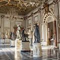 Inside One Of The Rooms Of The Capitoline Museums In Rome, Italy  by Svetlana Batalina
