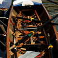 Inside Sail Boat by Michael Henderson