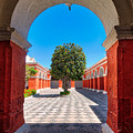Inside Santa Catalina Arequipa by Colin Woods