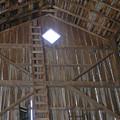 Inside The Barn by Janis Beauchamp