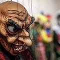 Inside The Puppet Store - Prague by Stuart Litoff