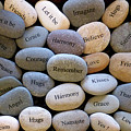 Inspirational Message Stones by To-Tam Gerwe