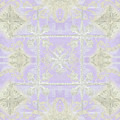 Inspired Coast Architectural Molding Ornament Pattern Lavender Violet by Audrey Jeanne Roberts