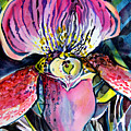 Intensely Orchid by Mindy Newman