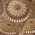 Inter Domes Of Sultan Ahmed Mosque by Bob Phillips