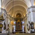 Interior Kalmar Cathedral by Roberta Bragan