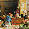 Interior Of A School - Cairo by John Frederick Lewis