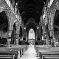interior of st martins church Birmingham UK by Joe Fox