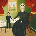 Interior Scene by American 19th Century