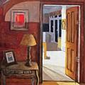 Interior Scene by John Corkery