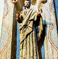 Interior Statue - San Xavier Mission - Tucson Arizona by Jon Berghoff