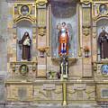 Interior View Of Church In Guanajuato Mexico by Juli Scalzi