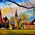 Interlaken Switzerland by Leonid Afremov