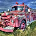 International Fire Truck by Tony Baca
