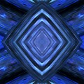 Intersection In Blue by Barbara St Jean