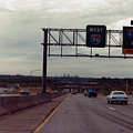 Interstate 70 West At Exit 8b, Interstate 435 North Exit, 1987 by Dwayne