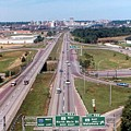 Interstate 74 West At Exit 95b, Route 116 East Exit, 1975  by Dwayne