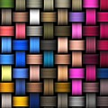 Intertwined Abstract Background by Hamik ArtS