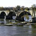 Interurban Bridge At Roche De Bout by Thomas Staff