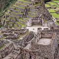 Intihuatana Pyramid by Bob Phillips