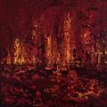 Into The Fire by K Batson Art