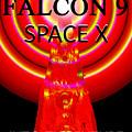Into The Future Falcon 9 by David Lee Thompson