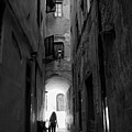 Into The Light, Florence, Italy by Richard Goodrich