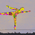 Intrepid On A Tight Rope by Kae Cheatham