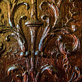 Intricate Wood Carving On Wall Panel At Swannonoa 4407vt by Doug Berry