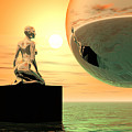Introspection by Sandra Bauser Digital Art