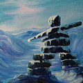 Inukshuk My Northern Compass by Joanne Smoley