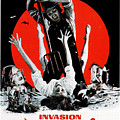 Invasion Of The Blood Farmers, Poster by Everett