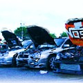 Invasion Of The Import Cars by Nicholas Small