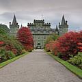 Inveraray Castle In Autumn by Maria Gaellman