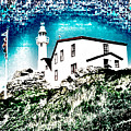 Inverted Lighthouse  by Donna Brown