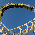 Inverted Roller Coaster by Anthony Totah