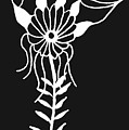 Inverted Small Flower by Trinity Bass
