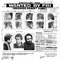 Investigator's Copy - Ted Bundy Wanted Document  1978 by Daniel Hagerman