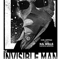 Invisible Man Movie Poster 1933 by Sean Parnell